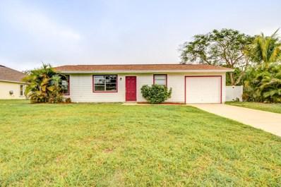 1357 SW Gastador Avenue, Port Saint Lucie, FL 34953 - #: RX-10507860