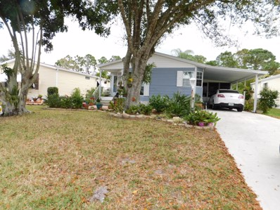 460 Tropical Isles Circle UNIT 41, Fort Pierce, FL 34982 - #: RX-10515140