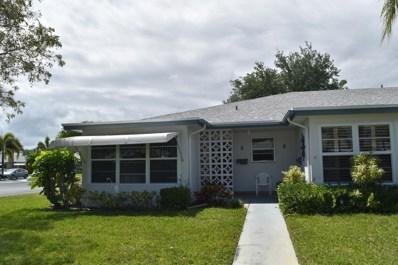 1087 Cir Terrace W UNIT A, Delray Beach, FL 33445 - #: RX-10517543