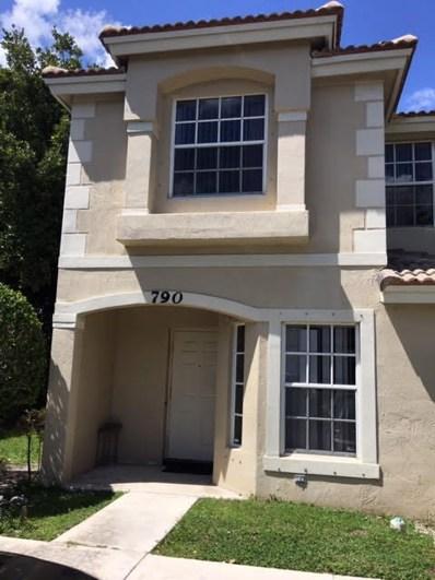 790 Summit Lake Drive, West Palm Beach, FL 33406 - #: RX-10525085