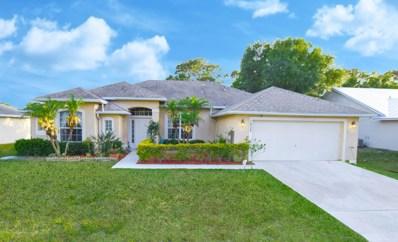 1922 SW Delmonico Avenue, Saint Lucie West, FL 34953 - #: RX-10526370