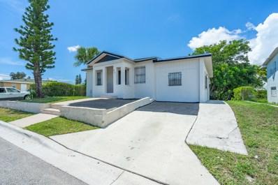 917 W 7th Street, Riviera Beach, FL 33404 - #: RX-10545843