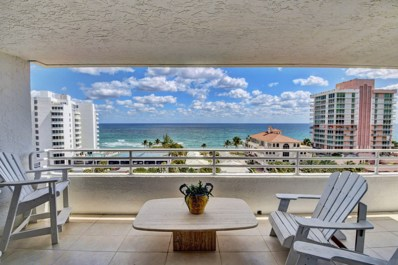 3450 S Ocean Boulevard UNIT 901, Highland Beach, FL 33487 - #: RX-10552497