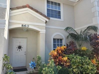 860 Summit Lake Drive, West Palm Beach, FL 33406 - #: RX-10553347