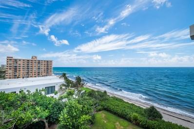 4605 S Ocean Boulevard UNIT 7c, Highland Beach, FL 33487 - #: RX-10553726