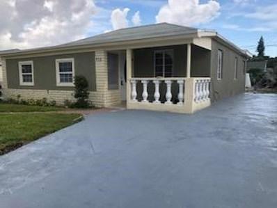 832 W 4th Street, Riviera Beach, FL 33404 - #: RX-10556009
