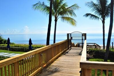 3400 S Ocean Boulevard UNIT 14k, Highland Beach, FL 33487 - #: RX-10557345