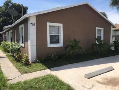 716 57th Street, West Palm Beach, FL 33407 - #: RX-10561272