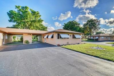 718 Whippoorwill Lane, Delray Beach, FL 33445 - #: RX-10564911