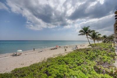 3301 S Ocean Boulevard UNIT 605, Highland Beach, FL 33487 - #: RX-10568745