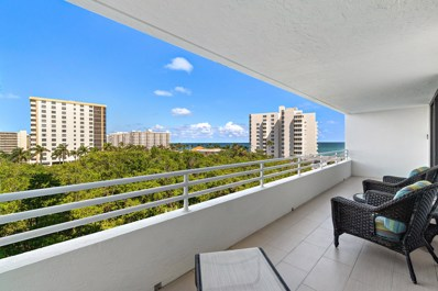 3450 S Ocean Boulevard UNIT 605, Highland Beach, FL 33487 - #: RX-10570419