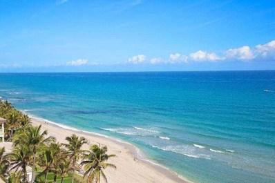 3215 S Ocean Boulevard UNIT 406, Highland Beach, FL 33487 - #: RX-10577220