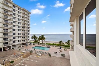 3301 S Ocean Boulevard UNIT 306, Highland Beach, FL 33487 - #: RX-10578762