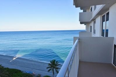 3215 S Ocean Boulevard UNIT 910, Highland Beach, FL 33487 - #: RX-10581706