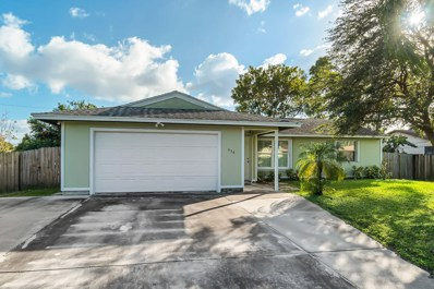 638 SW Grove Avenue, Port Saint Lucie, FL 34983 - #: RX-10591544