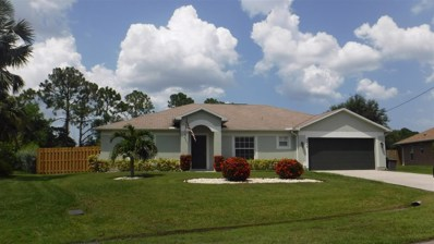6443 NW Regal Circle, Port Saint Lucie, FL 34983 - #: RX-10591765