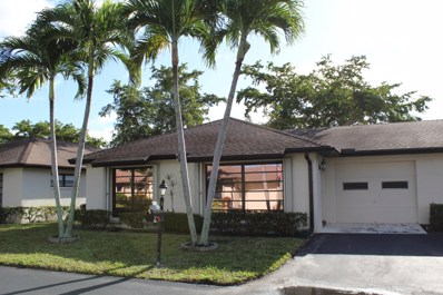 4854 Equestrian Circle UNIT A, Boynton Beach, FL 33436 - #: RX-10592412