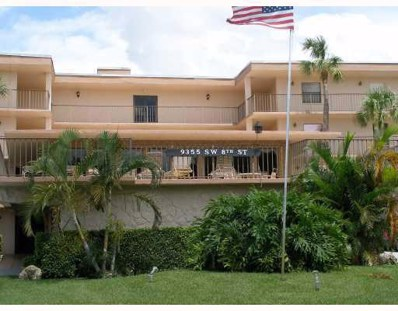 9355 SW 8th Street UNIT 405, Boca Raton, FL 33428 - #: RX-10593248