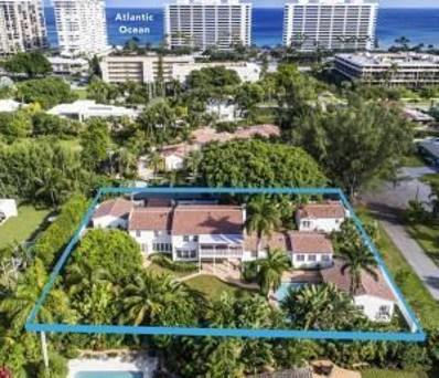 1281 Cocoanut Road, Boca Raton, FL 33432 - #: RX-10593608
