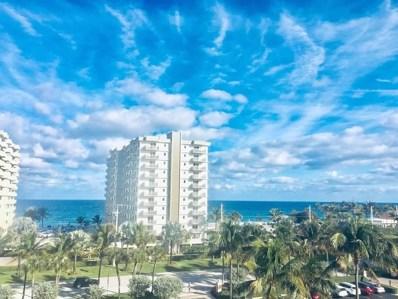 3301 S Ocean Boulevard UNIT 406, Highland Beach, FL 33487 - #: RX-10599390