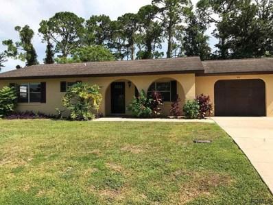 46 Fischer Lane, Palm Coast, FL 32137 - #: 188773