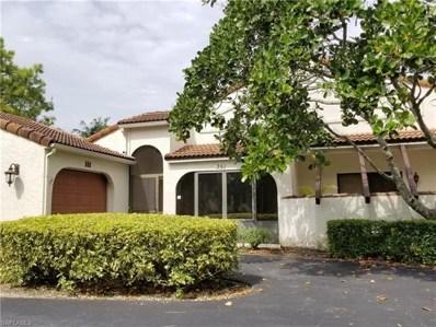 351 Bay Forest Dr UNIT 1A, Naples, FL 34110 - #: 218065169