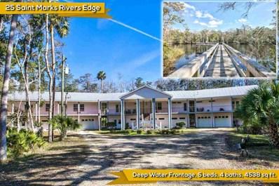 25 St Marks Rivers Edge Drive, Crawfordville, FL 32327 - #: 302215