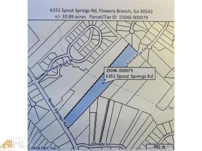 6151 Spout Springs, Flowery Branch, GA 30542 - #: 7205235