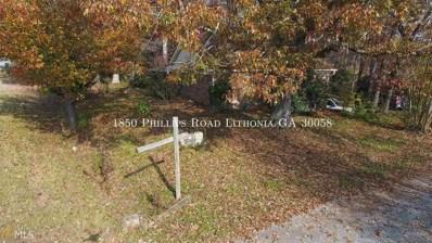 1850 Phillips Rd, Lithonia, GA 30058 - #: 8450960