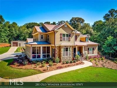 281 Old Winder Jefferson Hwy, Jefferson, GA 30549 - #: 8455237
