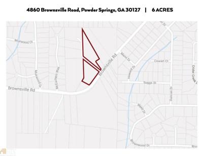 4860 Brownsville Rd, Powder Springs, GA 30127 - #: 8603572