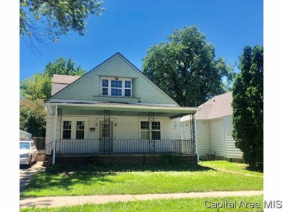 408 N Grand Ave W, Springfield, IL 62702 - #: 184366