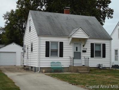 1929 N 22ND St, Springfield, IL 62702 - #: 186558