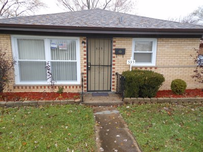 535 Hickory Street, Chicago Heights, IL 60411 - #: 10017770