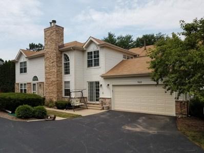 960 Sweetflower Drive UNIT 1, Hoffman Estates, IL 60169 - #: 10042152