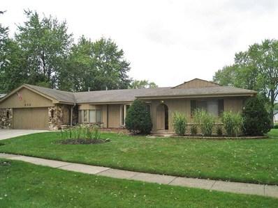 952 Carswell Avenue, Elk Grove Village, IL 60007 - #: 10061351