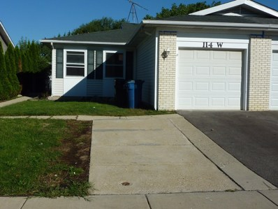 114 W Stevenson Drive, Glendale Heights, IL 60139 - #: 10077227