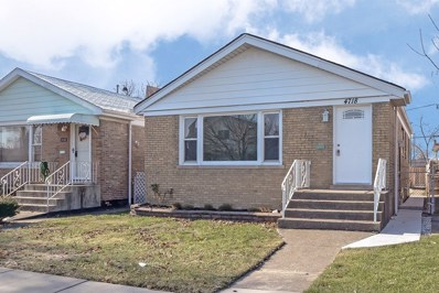 4718 S Keating Avenue, Chicago, IL 60632 - #: 10171303