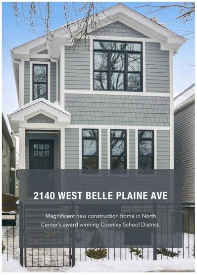 2140 W Belle Plaine Avenue, Chicago, IL 60618 - #: 10255440