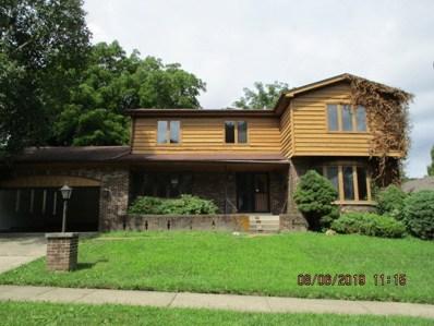 712 Rose Lane, Matteson, IL 60443 - #: 10512274