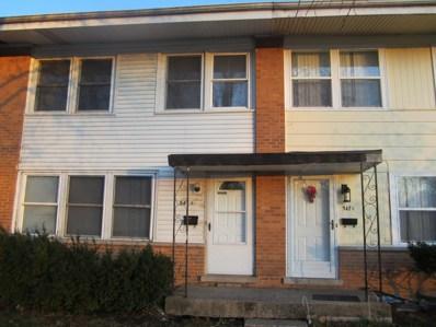547 Lynn Court UNIT D, Glendale Heights, IL 60139 - #: 10585576