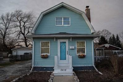 5416 Franklin Avenue, Oak Lawn, IL 60453 - #: 10593027