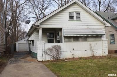 1205 W Thrush Avenue, Peoria, IL 61604 - #: 1222839