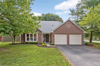 8167 Menlo Court East Drive, Indianapolis, IN 46240 - #: 21600995