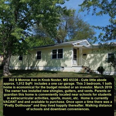 302 S Monroe Avenue, Knob Noster, MO 65336 - #: 2125737