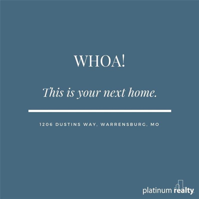 1206 Dustins Way, Warrensburg, MO 64093 - #: 2138400