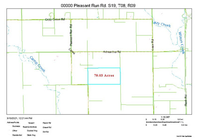 Pleasant Run Rd., Westmoreland, KS 66549 - #: 20210704