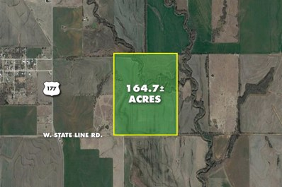 164.7 +\/- Acres W. State Line Rd., South Haven, KS 67140 - #: 592263