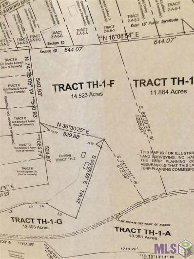 Tract Th-1-F Pride-Baywood Rd, Pride, LA 70772 - #: 2018016786