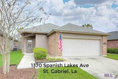 1370 Spanish Lakes Ave, St Gabriel, LA 70776 - #: 2019009099
